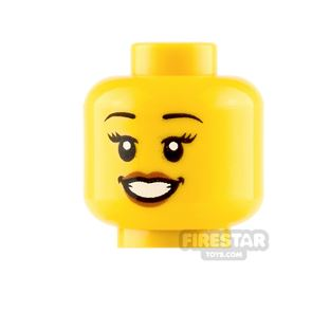 LEGO Minifigure Heads Open smile