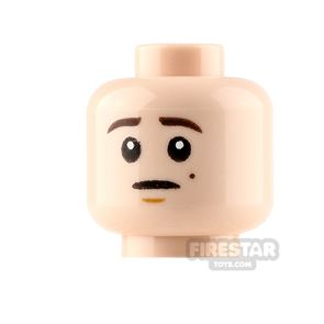 LEGO Minifigure Heads Neutral and Scared