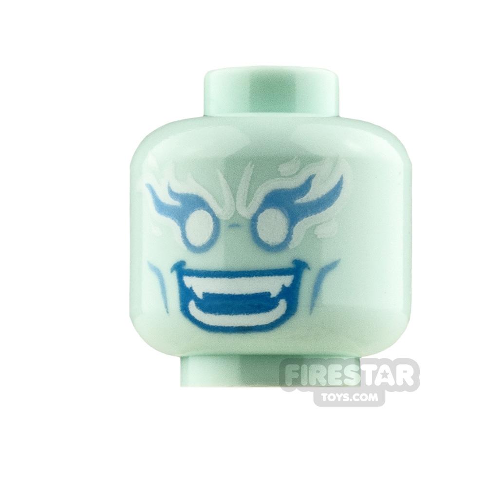 LEGO Mini Figure Heads Evil Spirit