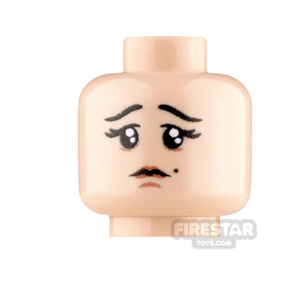Custom Minifigure Heads Rejected Female