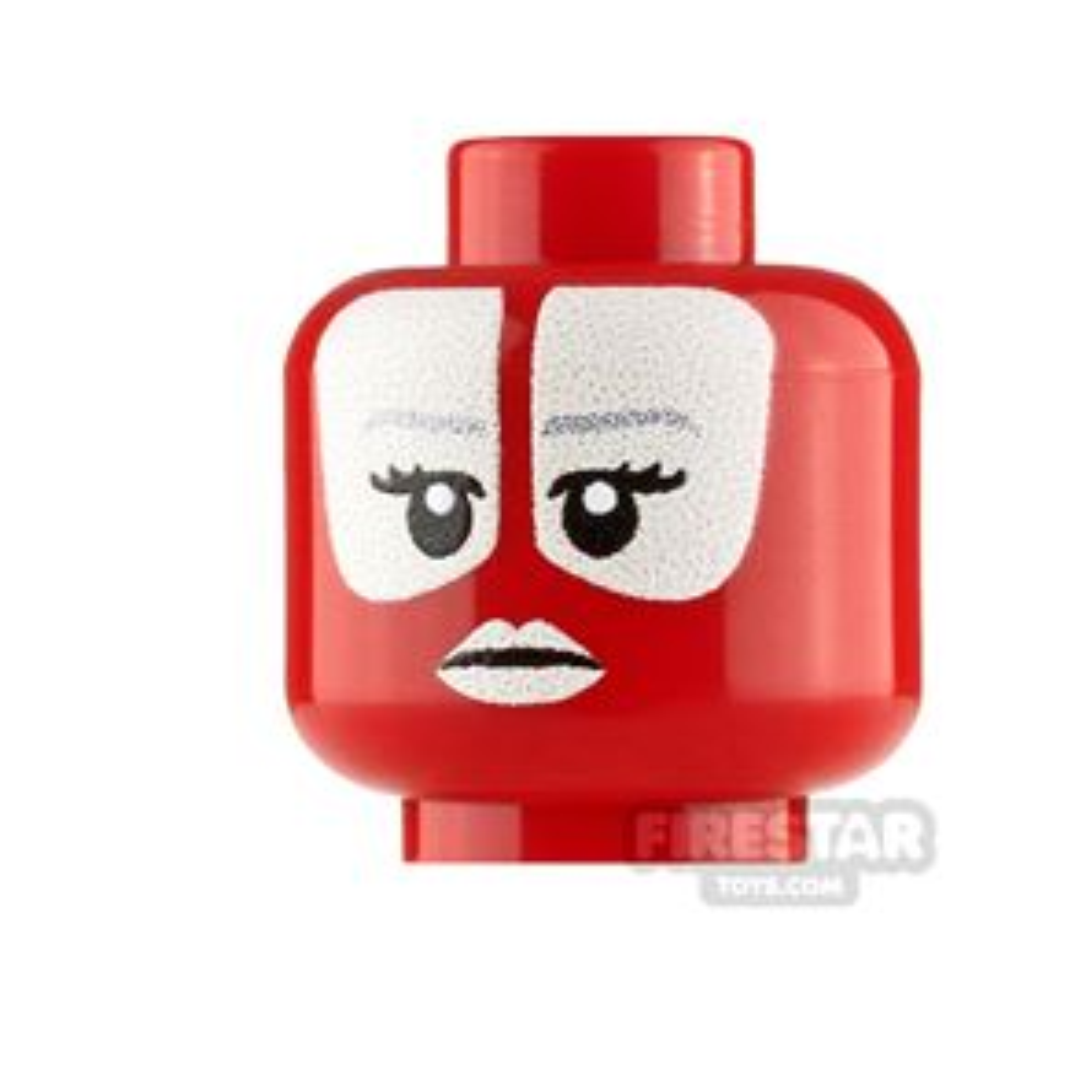 Custom Minifigure Heads SW Shaak Ti