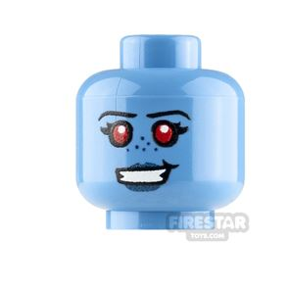 Custom Minifigure Heads SW Chiss Female Smile