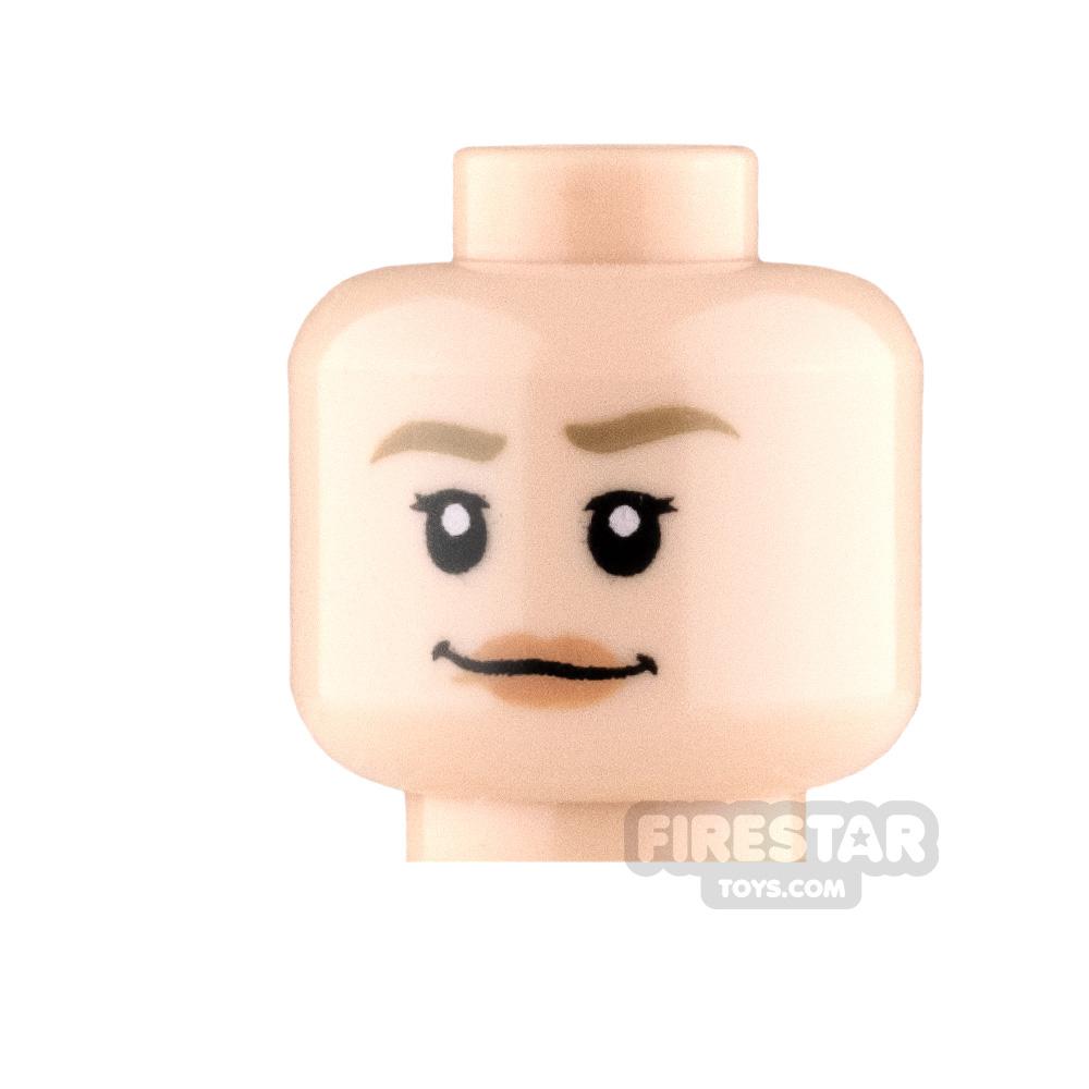 LEGO Minifigure Heads Smile and Scared
