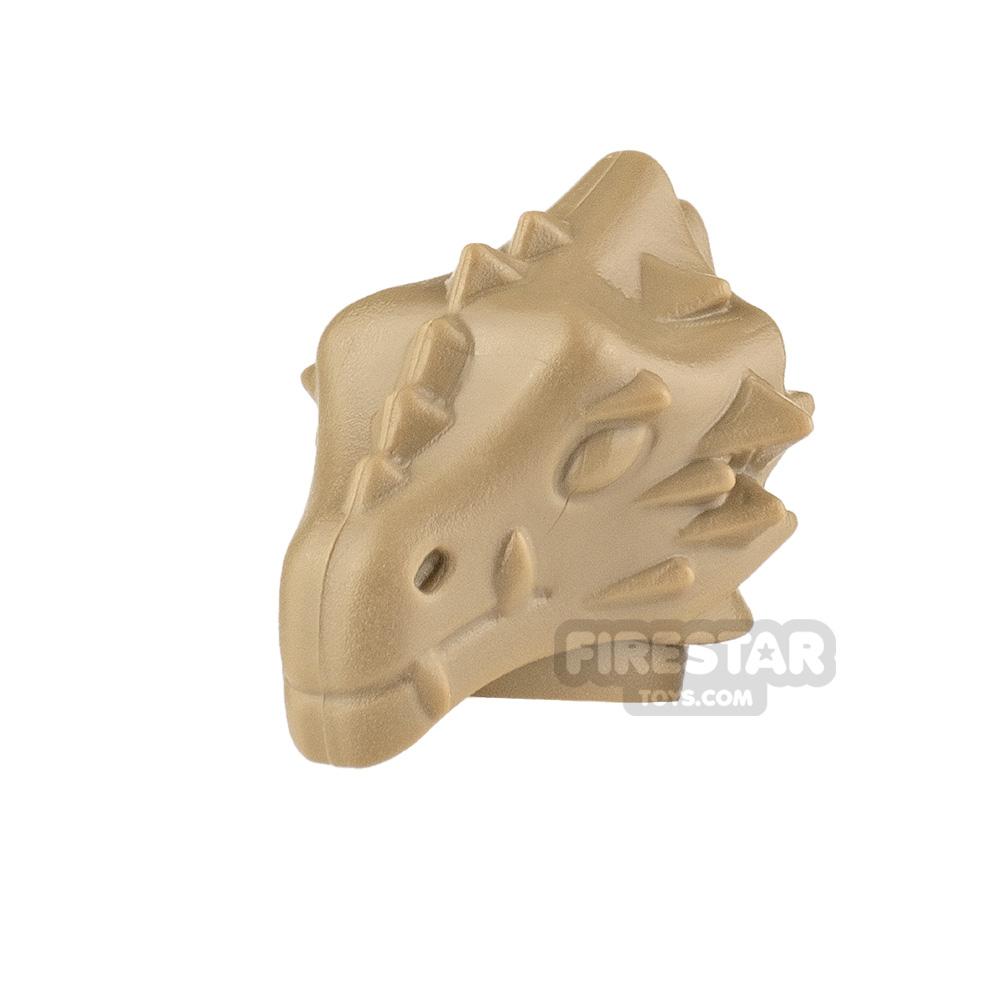 BrickWarriors Dragonman Head