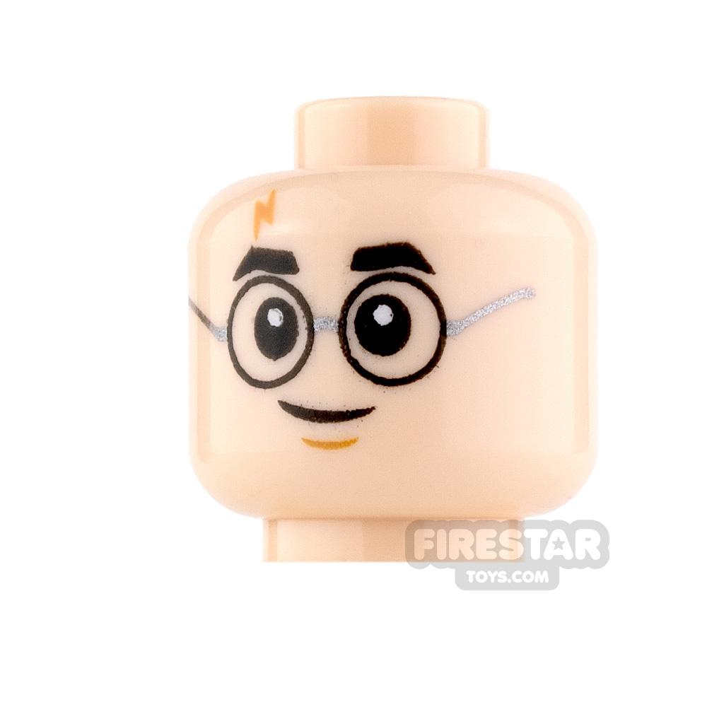 LEGO Mini Figure Heads - Harry Potter Smile and Scared