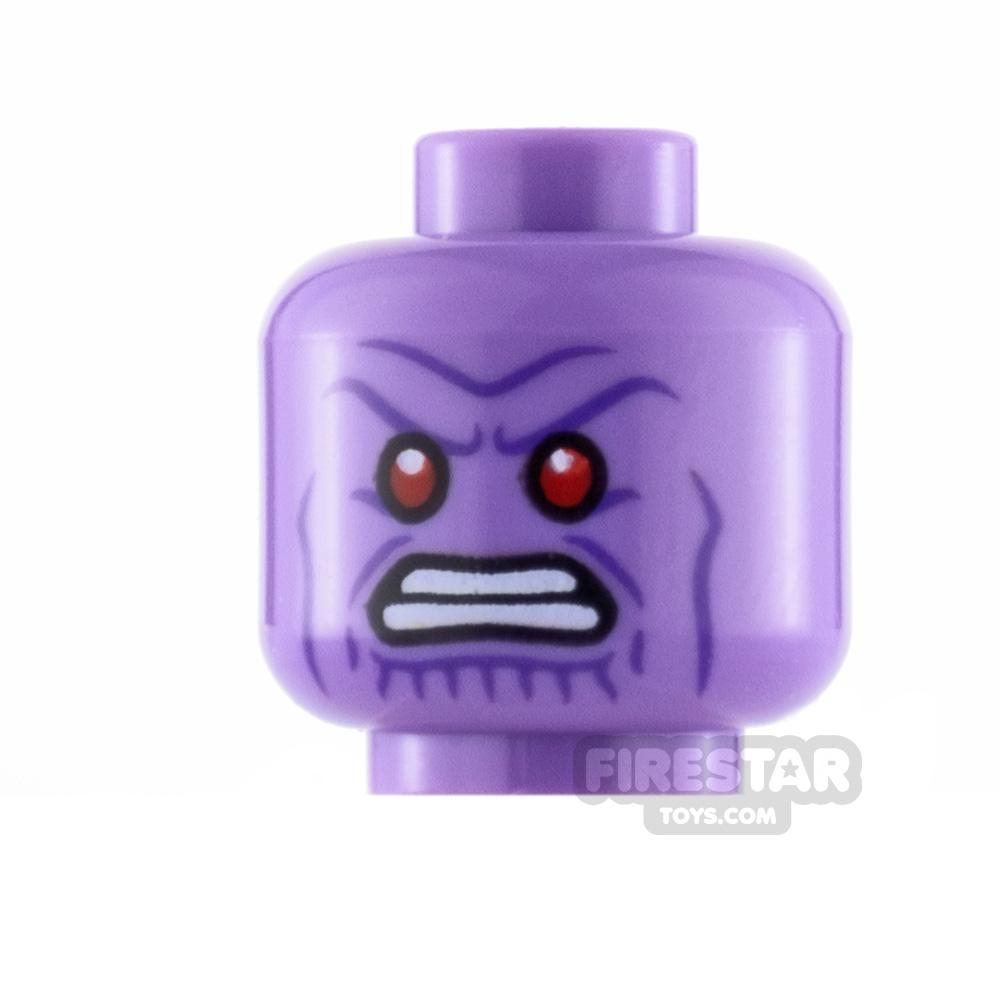 LEGO Minifigure Heads Thanos Red Eyes