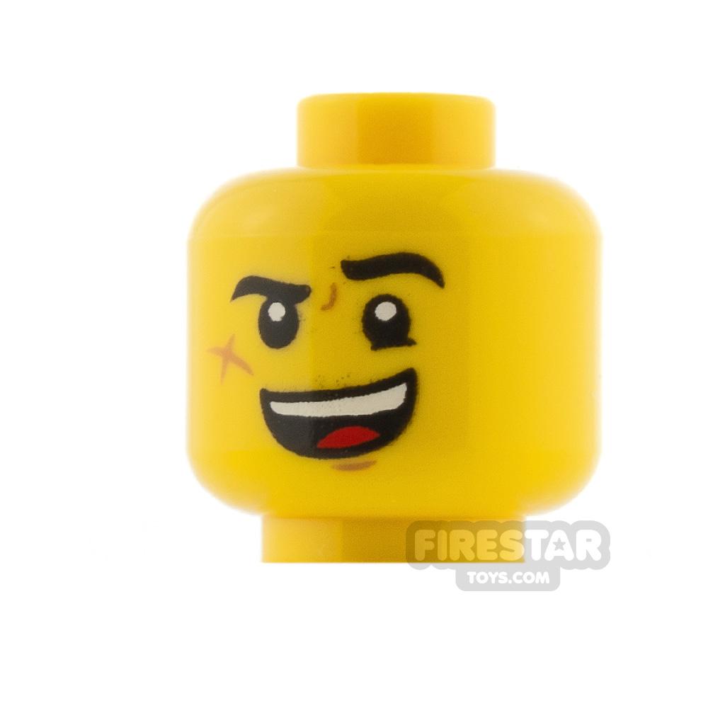 LEGO Minifigure Heads Wide Smile