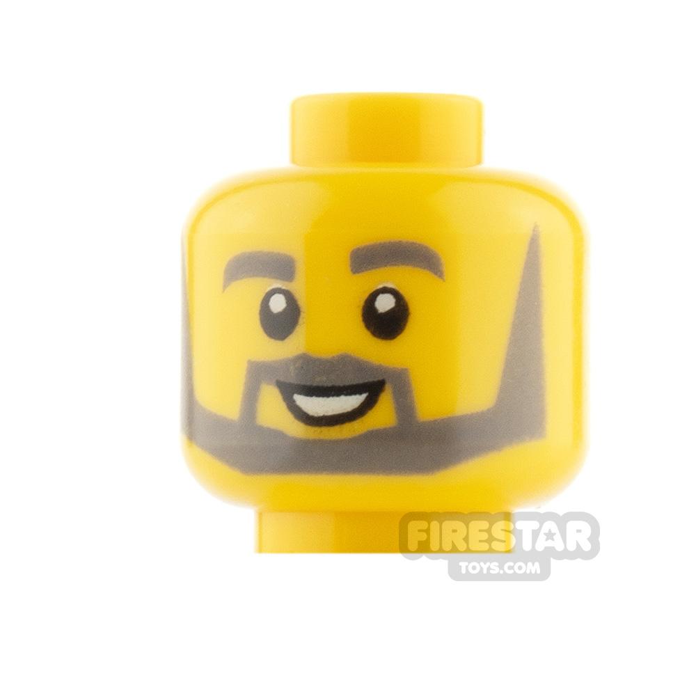 LEGO Friends Minifigure Heads Beard and Smile