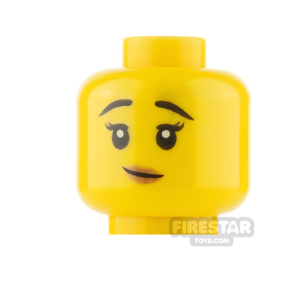 LEGO Minifigure Heads Lopsided Smile