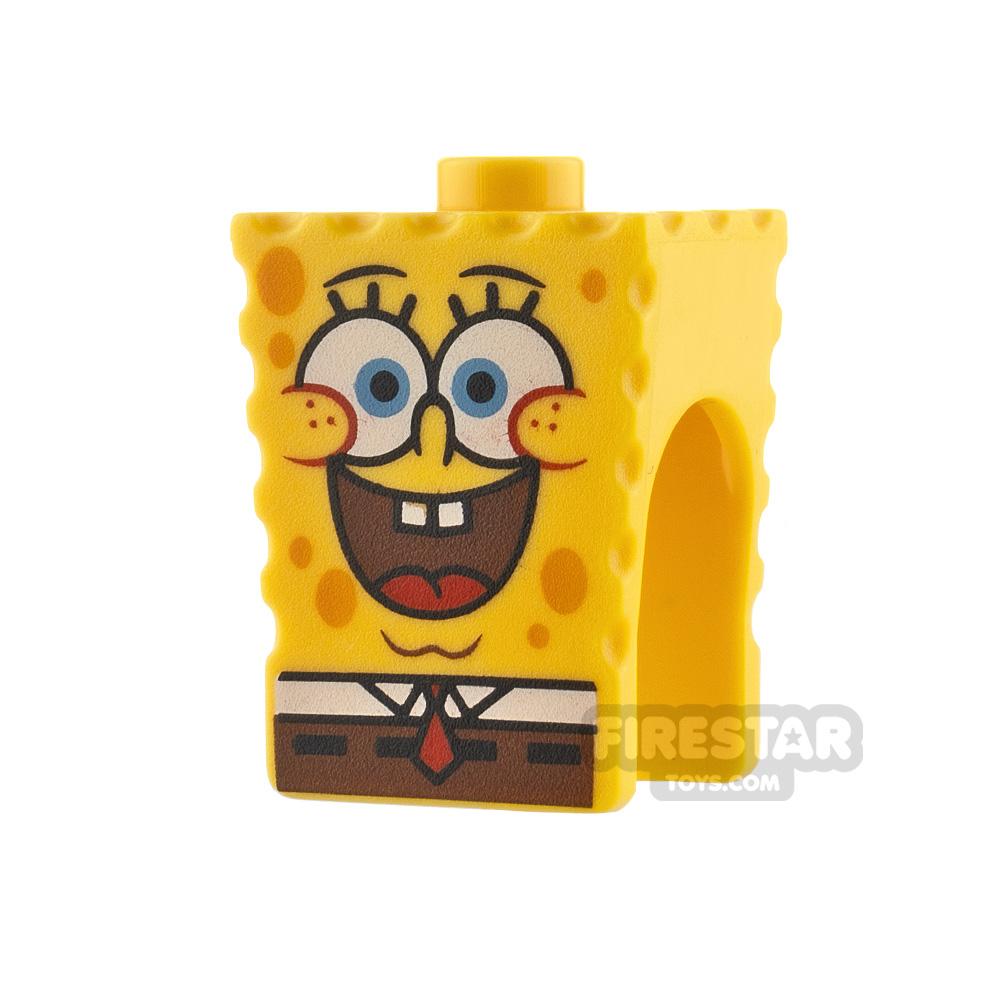 LEGO Minifigure Heads SpongeBob SquarePants Open Smile