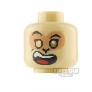 LEGO Minifigure Heads Smile and Grimace