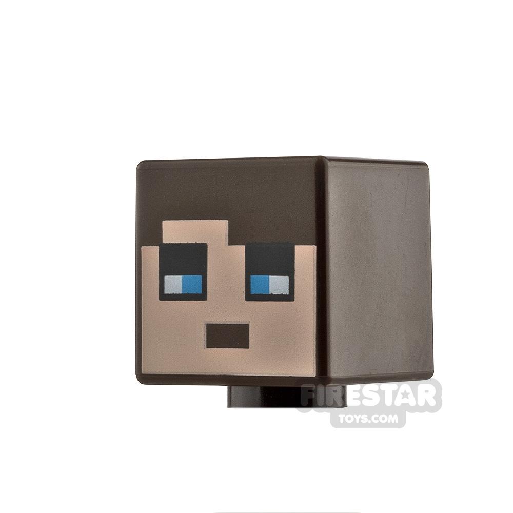 LEGO Minifigure Heads Minecraft Blue Eyes
