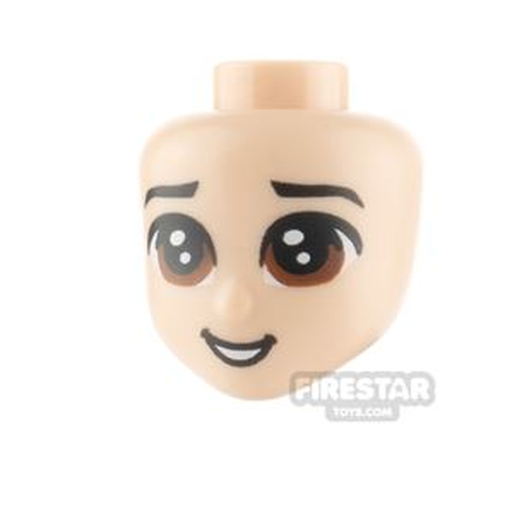 LEGO Disney Princess Minifigure Heads Large Brown Eyes