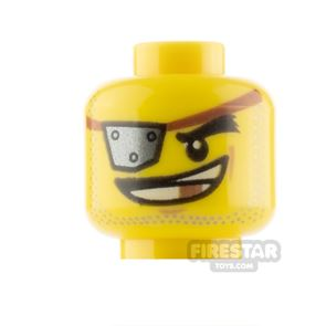 LEGO Minifigure Heads Eyepatch with Rivets