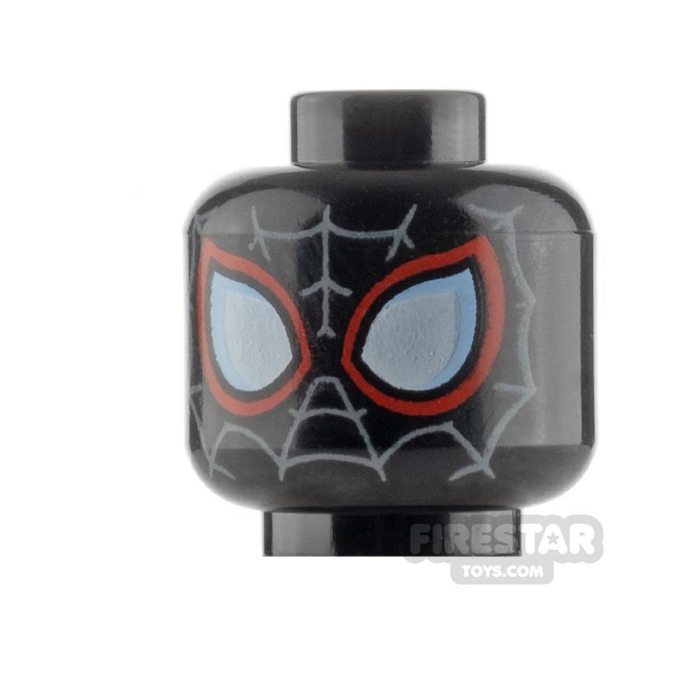 LEGO Minifigure Heads Spider-Man Miles Morales