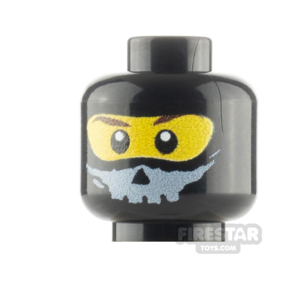 Custom Minifigure Heads Balaclava Skull Trooper Male