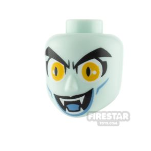 LEGO Movie Minifigure Heads Open Mouth with Fangs