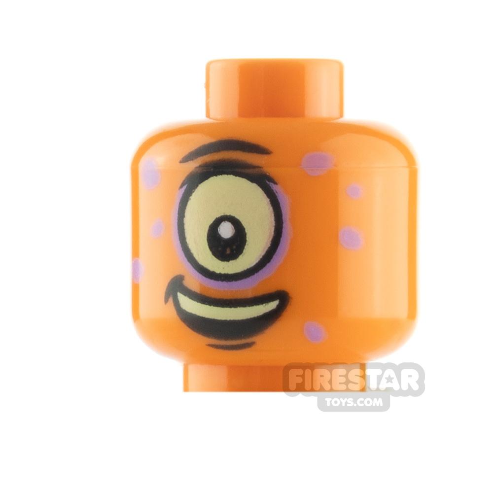 LEGO Minifigure Heads Cyclops with Spots