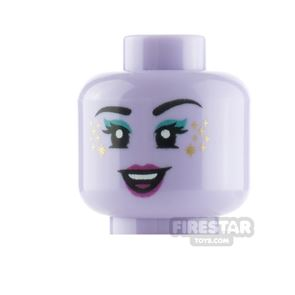 LEGO Minifigure Heads Star Freckles and Eyeshadow