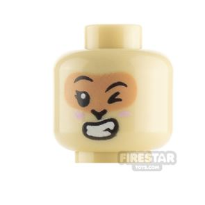 LEGO Minifigure Heads Lopsided Grin and Wink