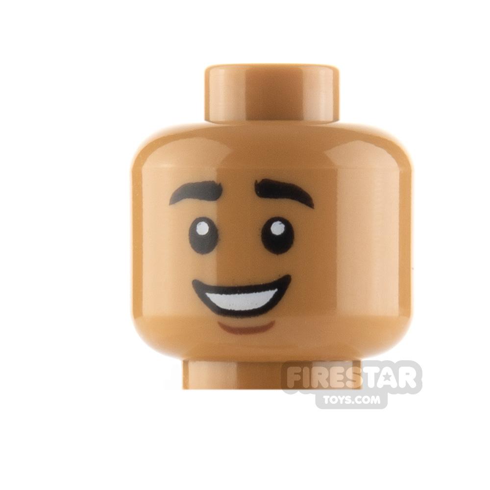 LEGO Minifigure Head Smile and Grin