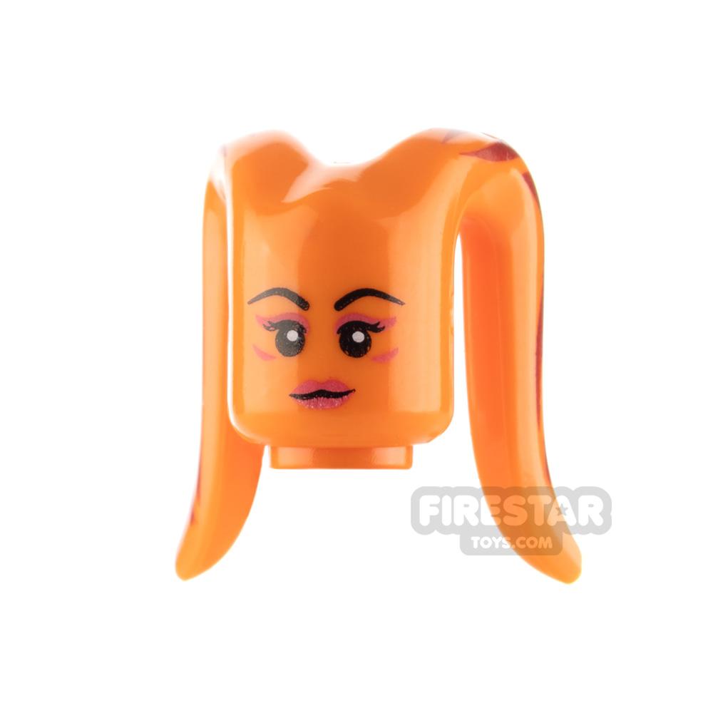 Arealight Mini Figure Heads - Orange