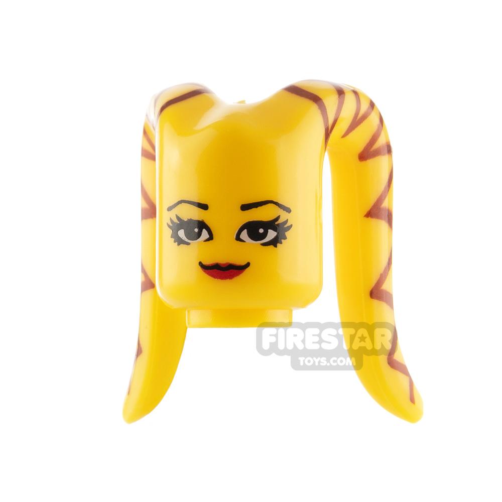 Arealight Mini Figure Heads - Yellow