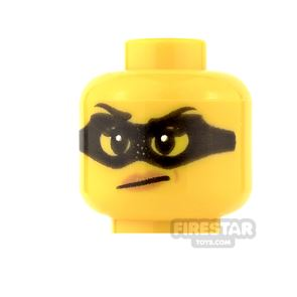 LEGO Mini Figure Heads - Female Bandit