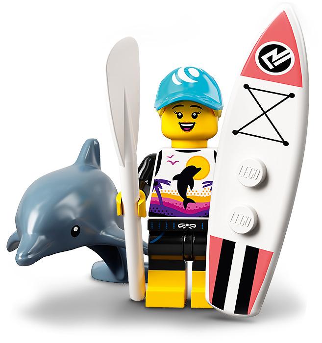 LEGO Minifigures 71029 Paddle Surfer