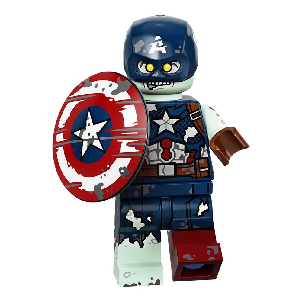 LEGO Minifigures 71031 Zombie Captain America