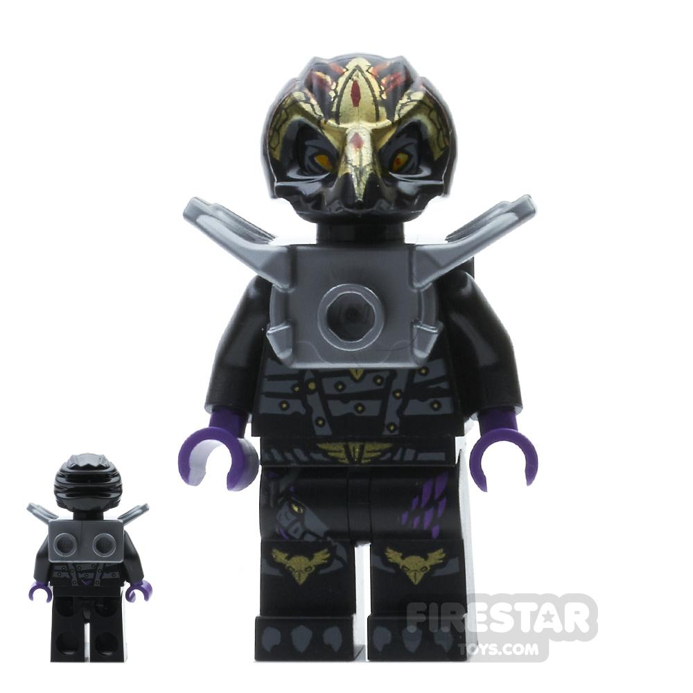 LEGO Legends of Chima Mini Figure - Rawzom- Flat Silver Armour