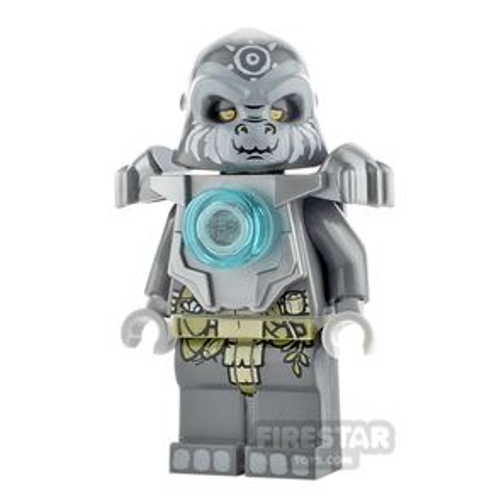 LEGO Legends of Chima Minifigure Grumlo Flat Silver Armour