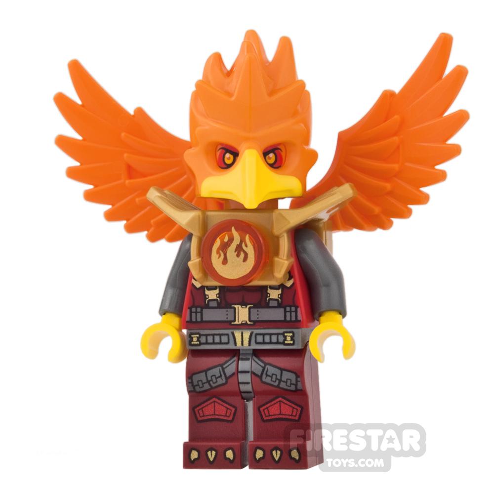 LEGO Legends of Chima Mini Figure - Frax - Dark Red Legs