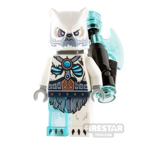 LEGO Legends of Chima Mini Figure - Iceklaw - Freeze Cannon Pack