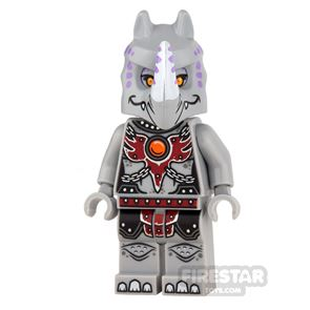 LEGO Legends of Chima Mini Figure - Rinona - Fire Chi Outfit
