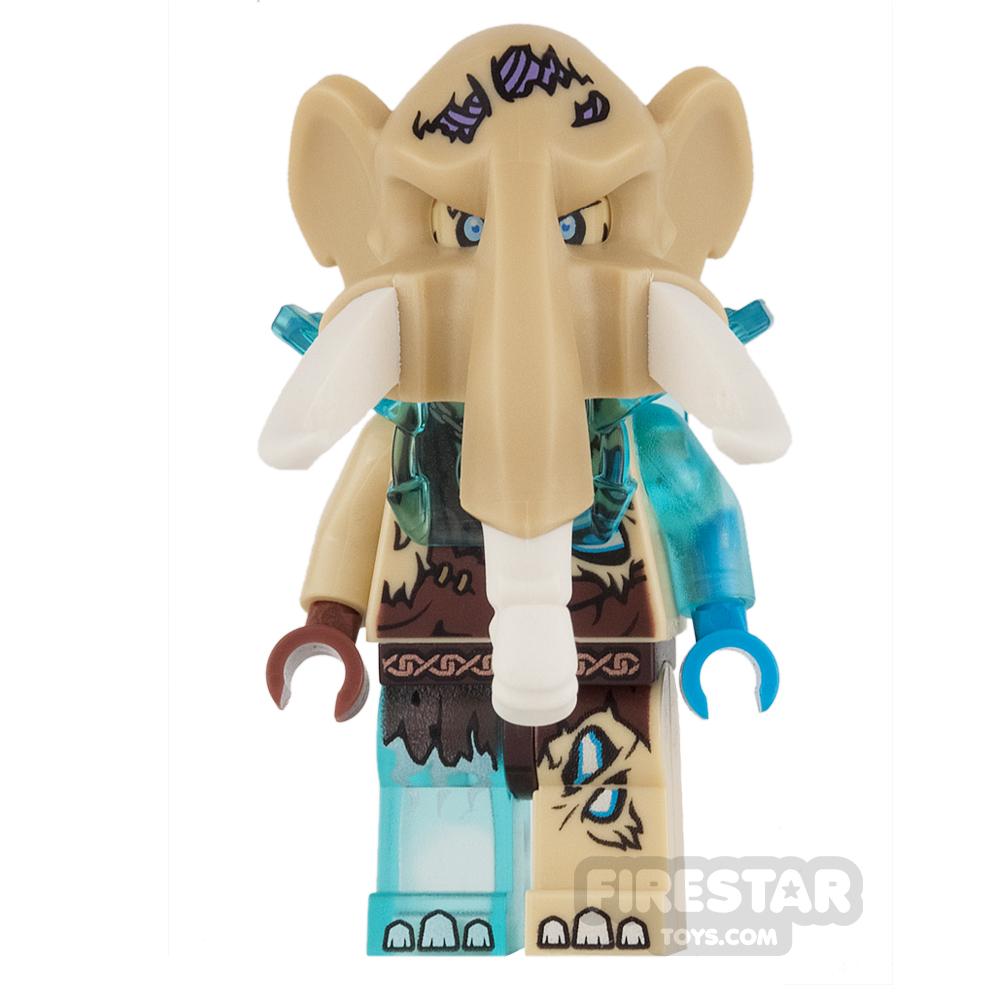 LEGO Legends of Chima Mini Figure - Mottrot - Heavy Armour