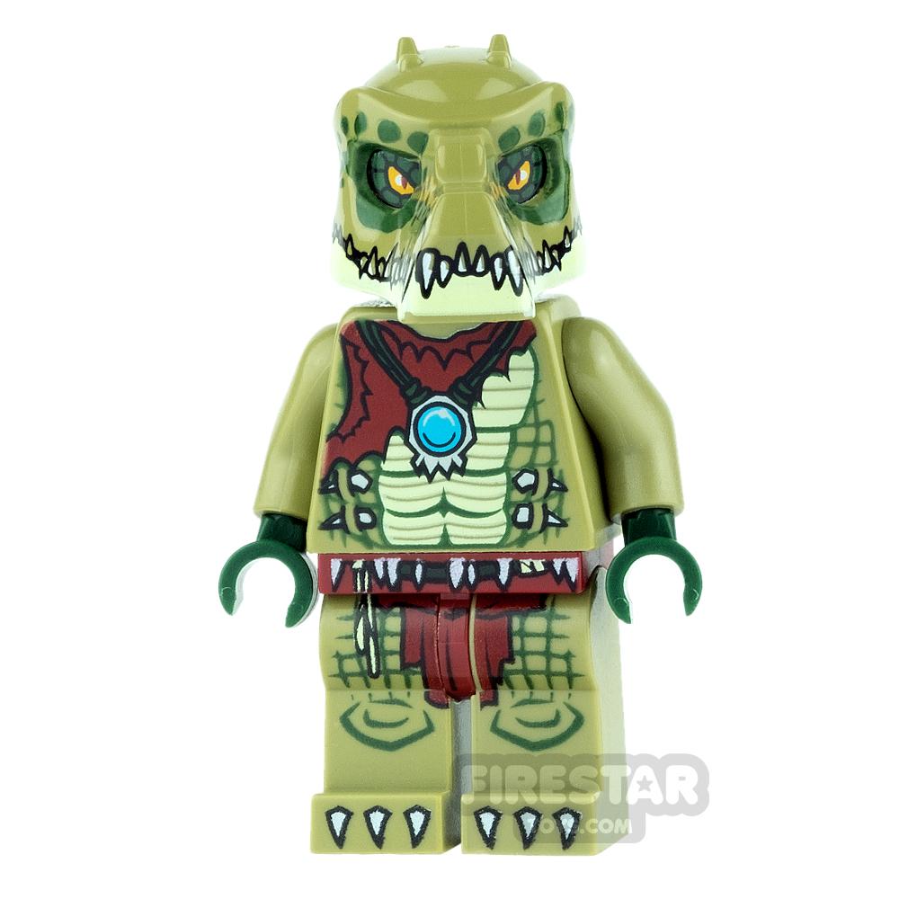 LEGO Legends of Chima Mini Figure - Crawley - Flat Silver Armour