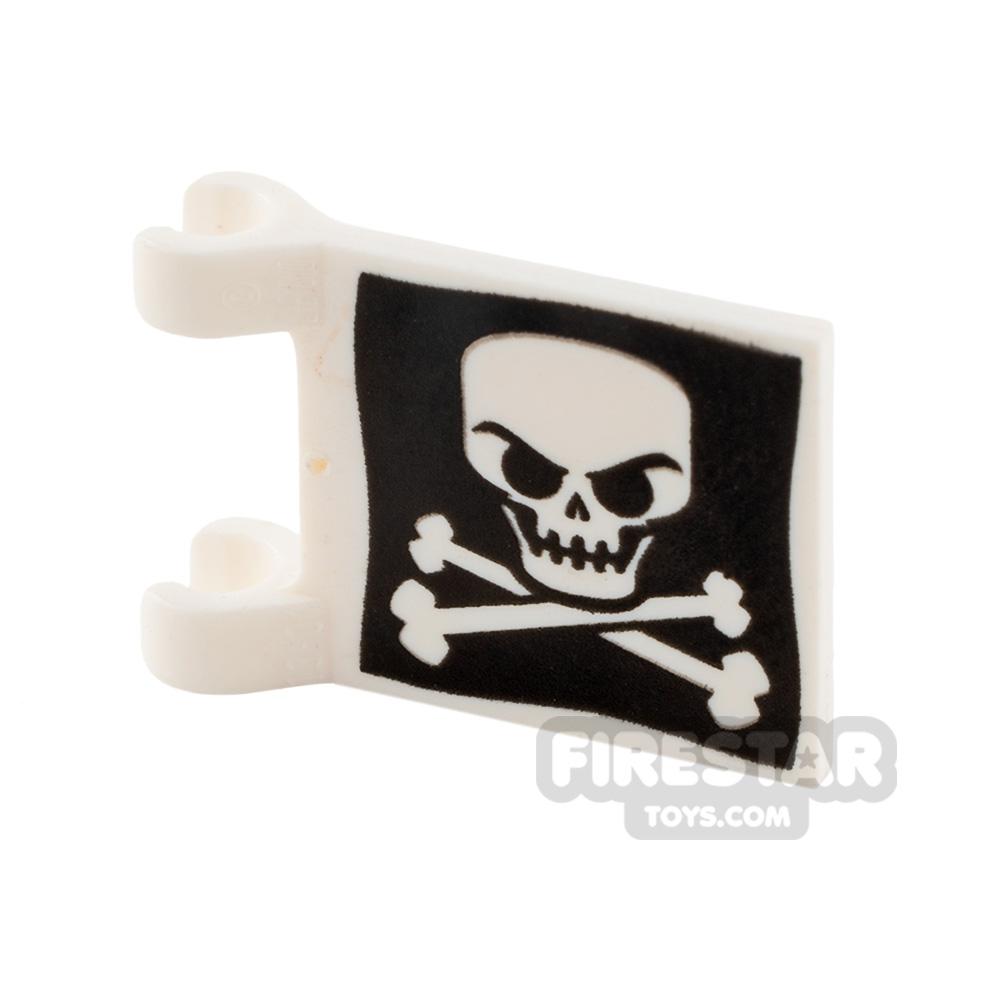 Printed Flag - Skull and Crossbones