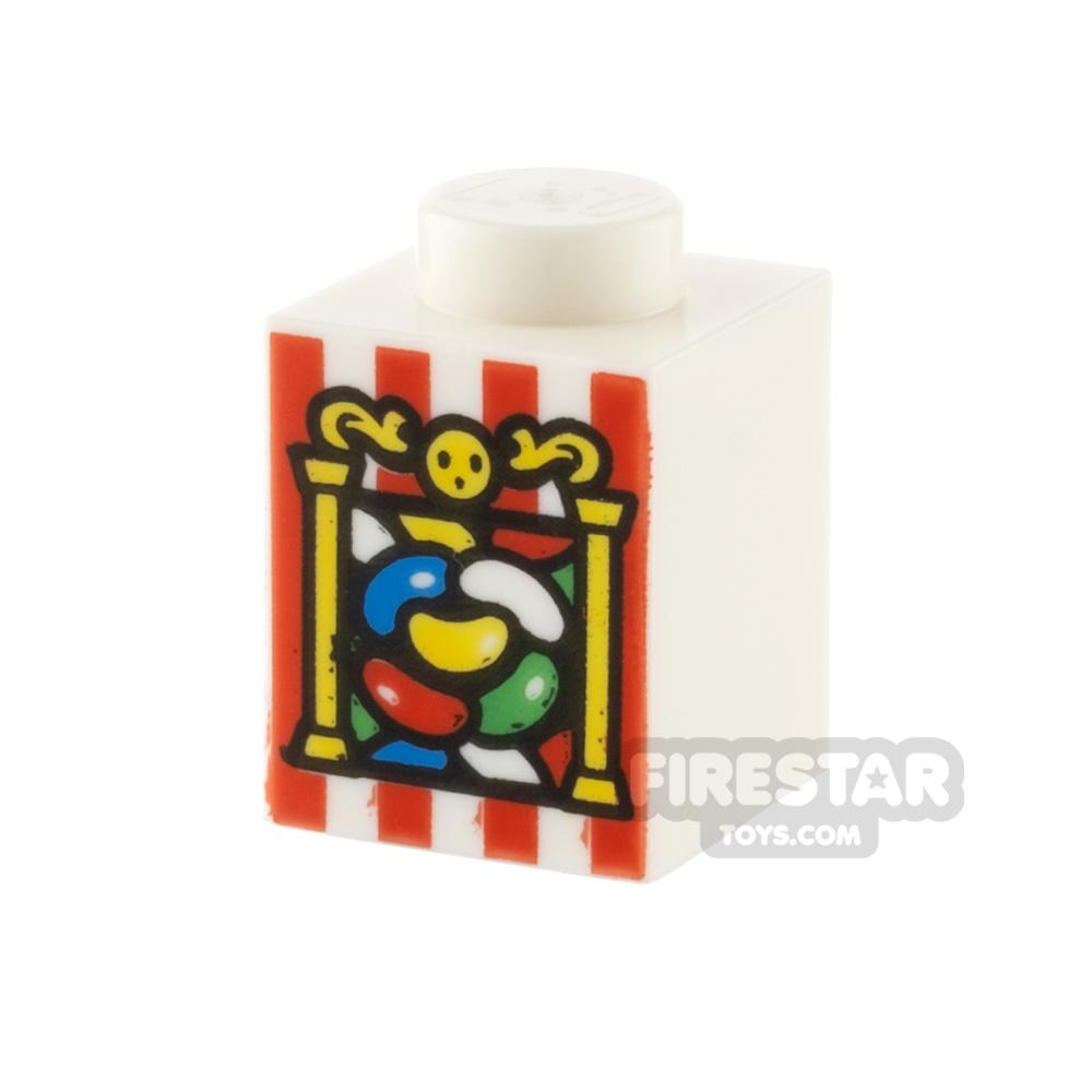 Printed Tile 1x8 New York City
