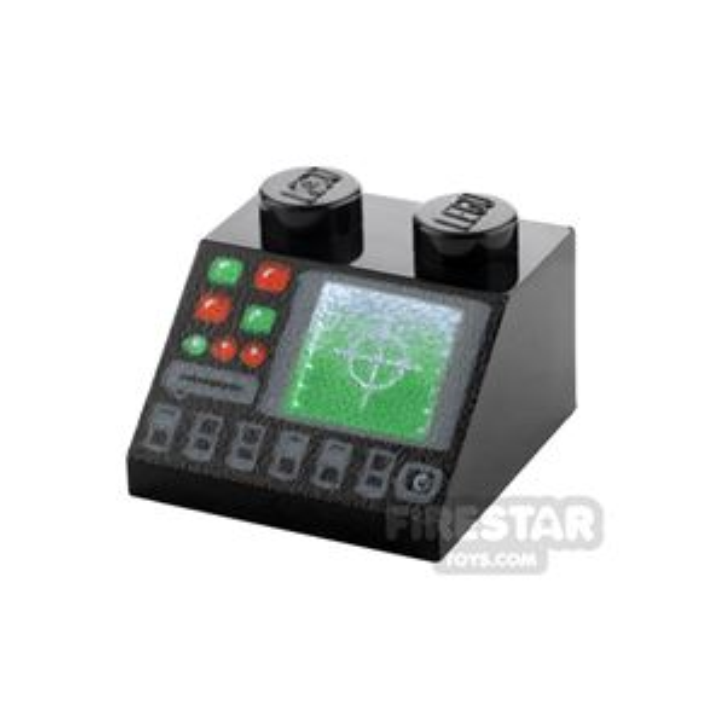 Printed Slope 2x2 Radar and Disk Slot
