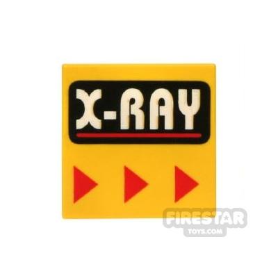 Printed Tile 2x2 - X-Ray