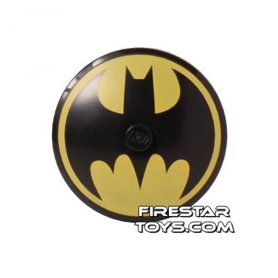 Printed Inverted 2x2 Dish Batman Logo
