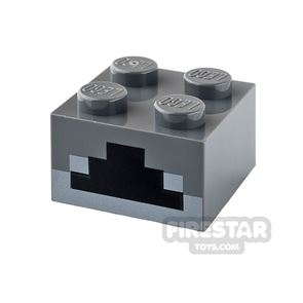 Printed Brick 2x2 - Minecraft Furnace