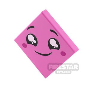 Printed Tile 2x2 Smiling Face