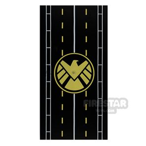 Printed Plate 8x16 Runway with SHIELD Logo
