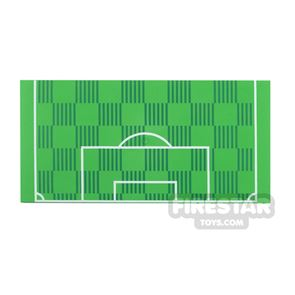 Printed Plate 8x16 Football Pitch Penalty Area