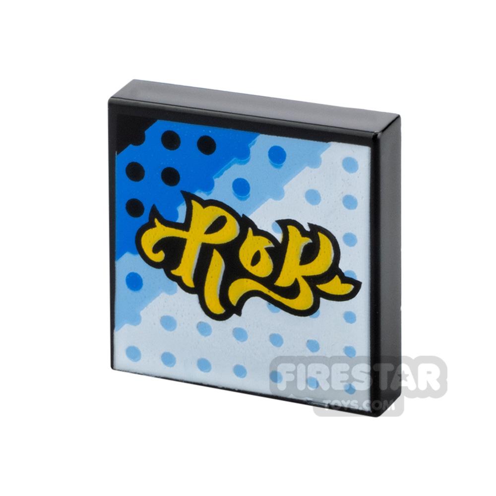 Printed Vidiyo Tile 2x2 Dotted Grid