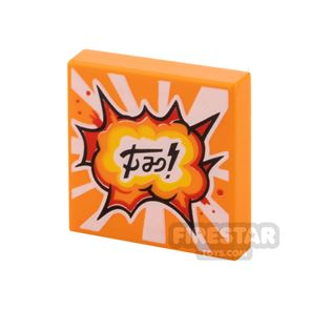 Printed Vidiyo Tile 2x2 Colourful Explosion