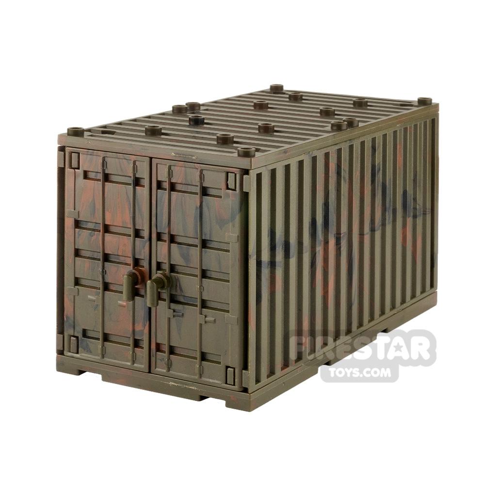 SI-DAN Shipping Container Jungle Camo