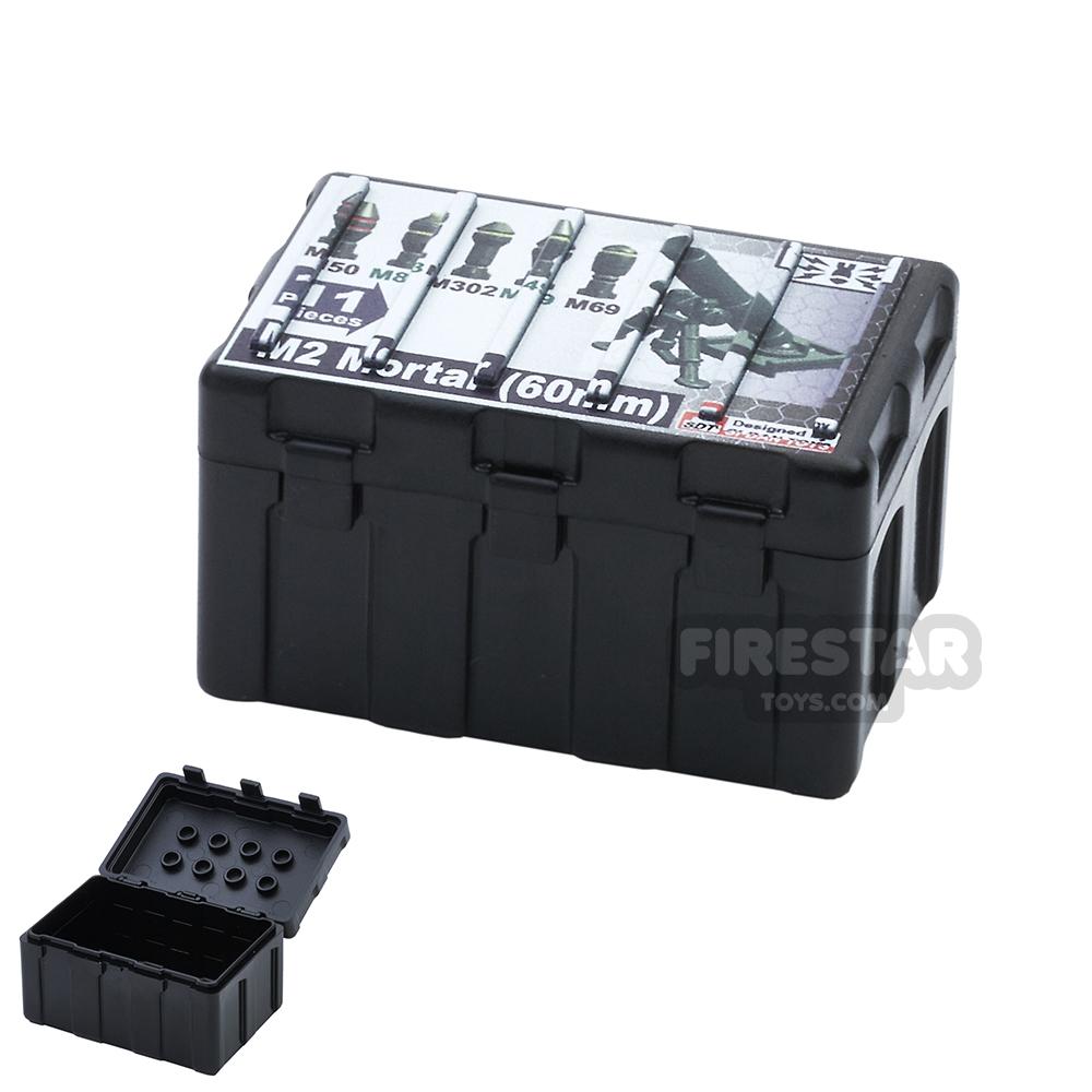 SI-DAN - Transportation Box TB415 - Black with Ammo Print
